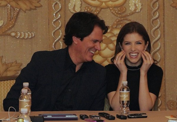 Into the Woods Director Rob Marshall and Anna Kendrick
