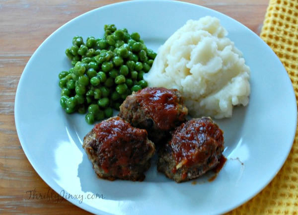 Brown Sugar Ketchup Glazed Meatballs
