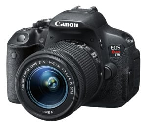 Canon EOS Rebel T5i at Best Buy to Capture the Moments