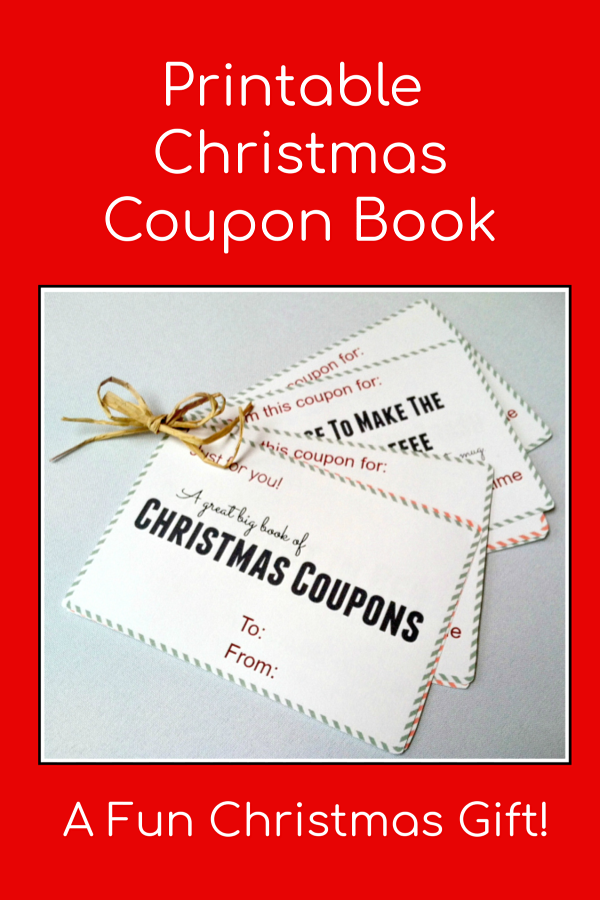 Printable Christmas Coupon Book