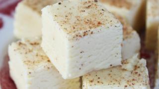 Eggnog Fudge  – A Christmas Classic