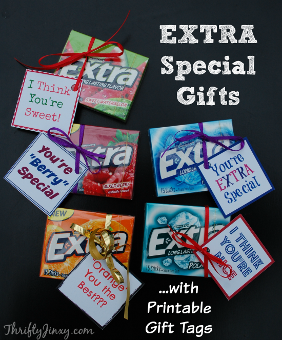 Give EXTRA This Holiday Season with Extra Gum - Thrifty Jinxy