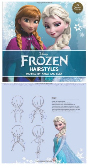 Frozen Anna and Elsa Hairstyles