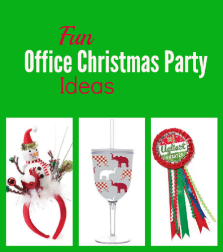 how to make a work christmas party fun