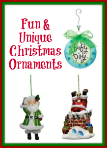 Fun Unique Christmas Ornaments