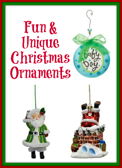 fun unique christmas ornaments - thrifty jinxy