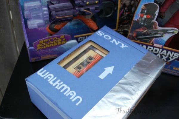 Guardians of the Galaxy Sony Walkman Gift Box