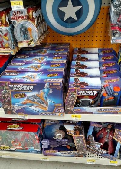 Guardians of the Galaxy Walmart