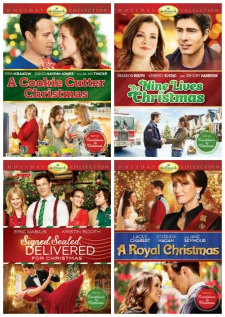 New Hallmark Christmas Movies on DVD + Reader Giveaway - Thrifty Jinxy