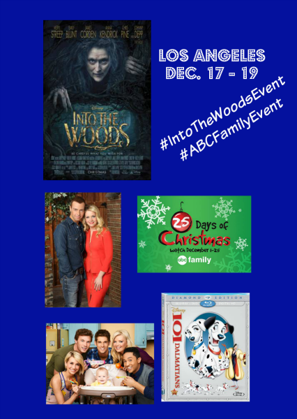 On My Way to LA – #IntoTheWoodsEvent and #ABCFamilyEvent