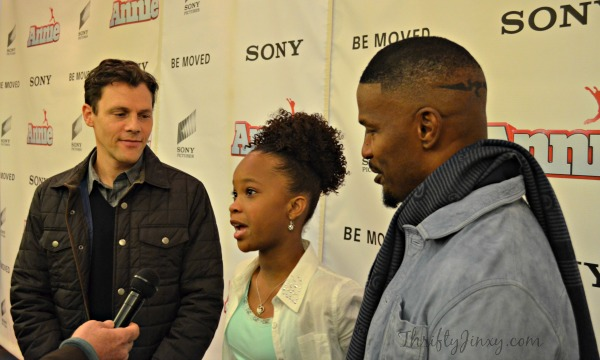 A Special ANNIE Screening with Jamie Foxx, Quvenzhané Wallis and Will Gluck