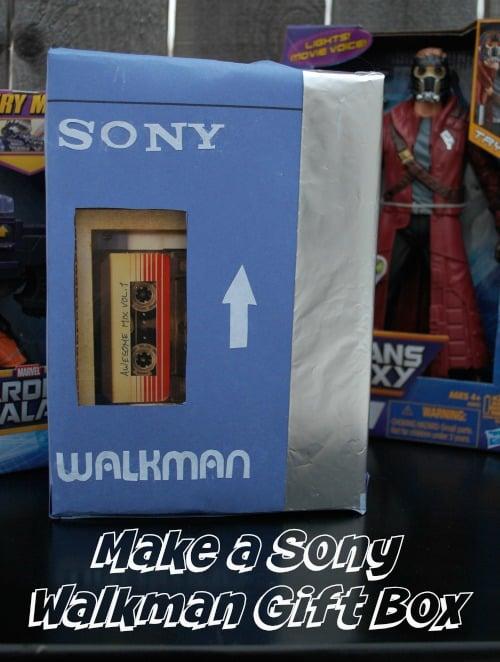 Make a Sony Walkman Gift Box