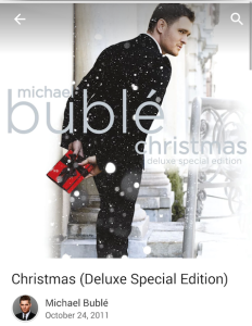 Michael Bublé Christmas Album FREE from Google Play