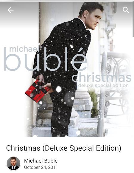 Michael Buble Christmas Free Google Play
