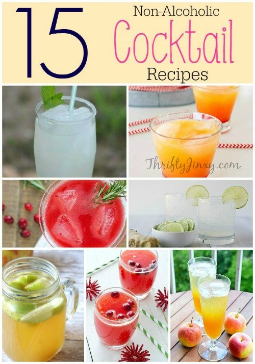 non-alcoholic cocktail recipes round-up