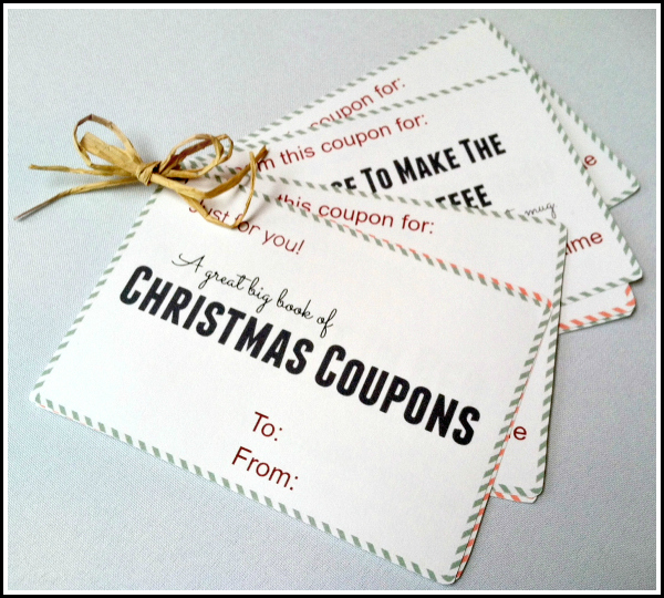 Printable Christmas Coupons