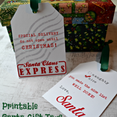 7ee5e2728fd Printable Santa Gift Tags and Other FREE Santa Printables