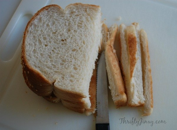 Remove Crusts from Bread