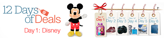 DISNEY Day Today – Amazon 12 Days of Deals