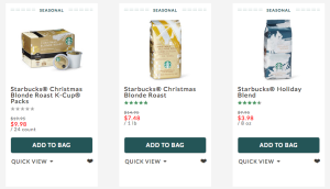 50% Off Starbucks Coffee and Gifts!
