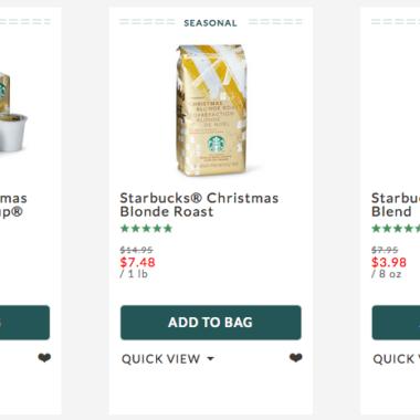 ce6db5ebf 50% Off Starbucks Coffee and Gifts!