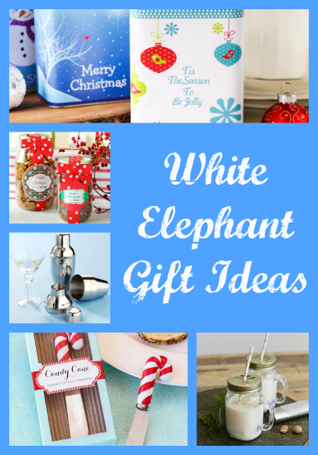 White elephant gift ideas thrifty jinxy