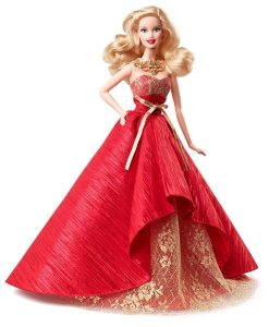 2014 Holiday Barbie Doll only $24.99! (reg $40)