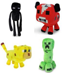 Minecraft Plush Toys only $6.99 from Amazon! (reg $12)