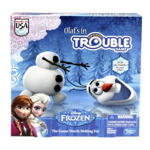 Disney's Frozen Olaf's in Trouble Board Game only $11.99