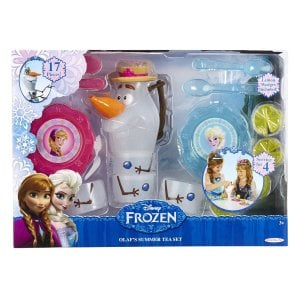 Disney's Frozen Olaf Tea Set only $18.88 and Back in Stock – Sells Out Fast!