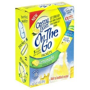 $1/1 Crystal Light On the Go = $.59 10-Pack at Target
