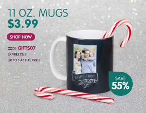 Custom Photo Mugs and Mouse Pads only $3.99!