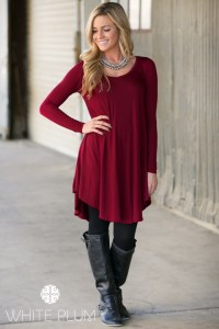 Long Ballet Tunic Tops in Sizes S-3XL only $14.99!