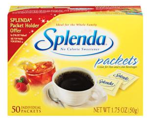 $1/1 Splenda Sweetener Coupon + Gift Card Promo = $1.61 10-pk at Walmart