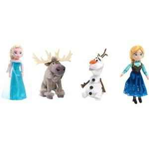 4-Piece Talking Plush Disney's Frozen Toy Set only $19 Shipped!