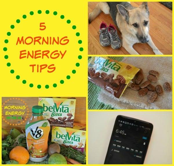 5 Morning Energy Tips
