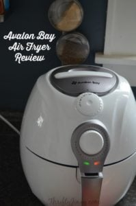 Avalon Bay Air Fryer Review AB-Airfryer100W
