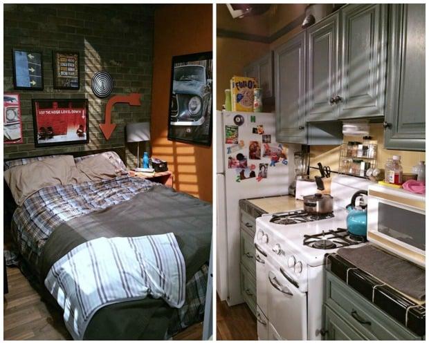 Beautiful Baby Daddy Set Bedroom Kitchen