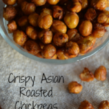 Crispy Asian Roasted Chickpeas Recipe