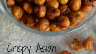 Crispy Asian Roasted Chickpeas