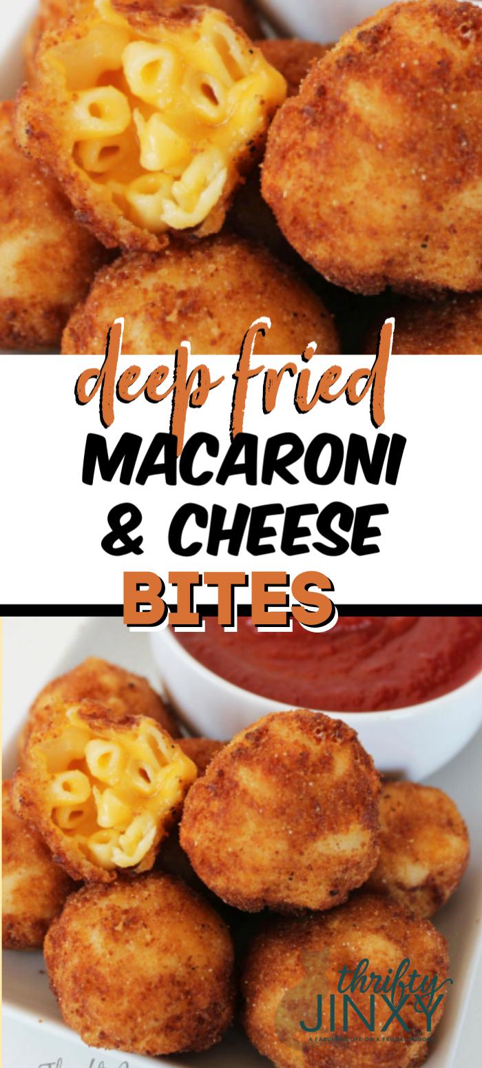 Deep Fried Mac and Cheese Bites