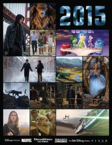 Walt Disney Studios 2015 Films List – LOTS of Excitement in Store!