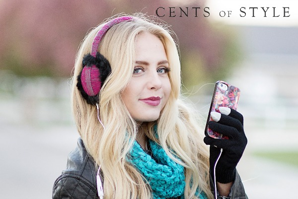 Earmuff Headphones PLUS Touchscreen Gloves Only $11.99 Shipped!