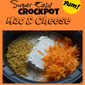 Easy Crockpot Macaroni and Cheese