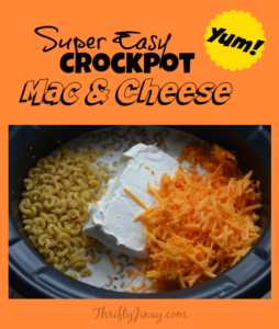 Easy Crockpot Macaroni and Cheese Recipe