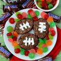 Football Snickers Brownie Recipe