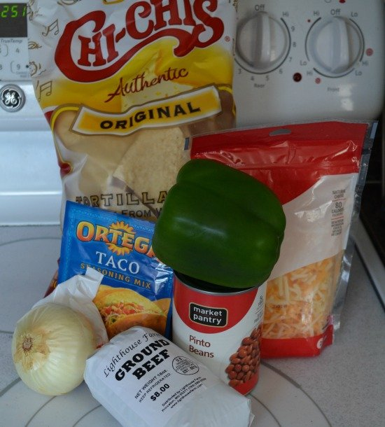 Ground Beef Taco Casserole Ingredients