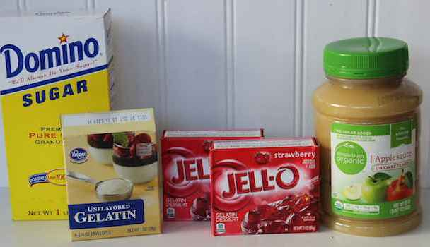 Homemade Valentine Gum Drops Recipe Ingredients