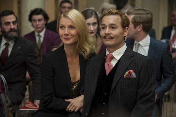 Johnny Depp's Mortdecai in Theaters January 23rd