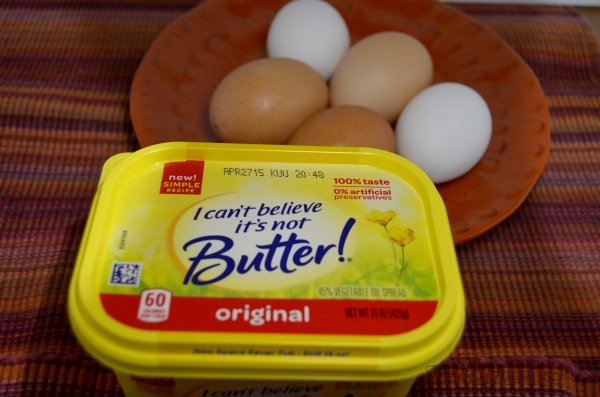 Perfect Fluffy Scrambled Eggs Recipe Ingredients